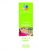 Projeto Pedagógico 2018_2019