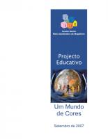Projecto Educativo 2007-2010