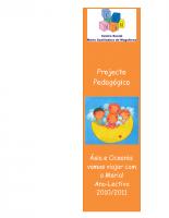 Projecto Pedagógico 2010_2011