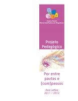 Projeto Pedagógico 2011_2012