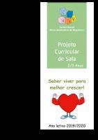 Projeto Curricular 2019-2020 sala 2-3 anos