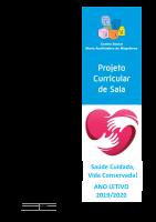Projeto curricular 2019-2020 sala 4-5 anos