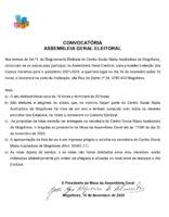 Convocatória Assembleia Geral Eleitoral 30-11-2020